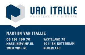 Martijn van Itallie visitek